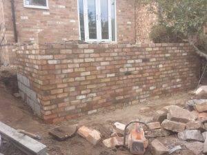 Garden Wall Nottingham