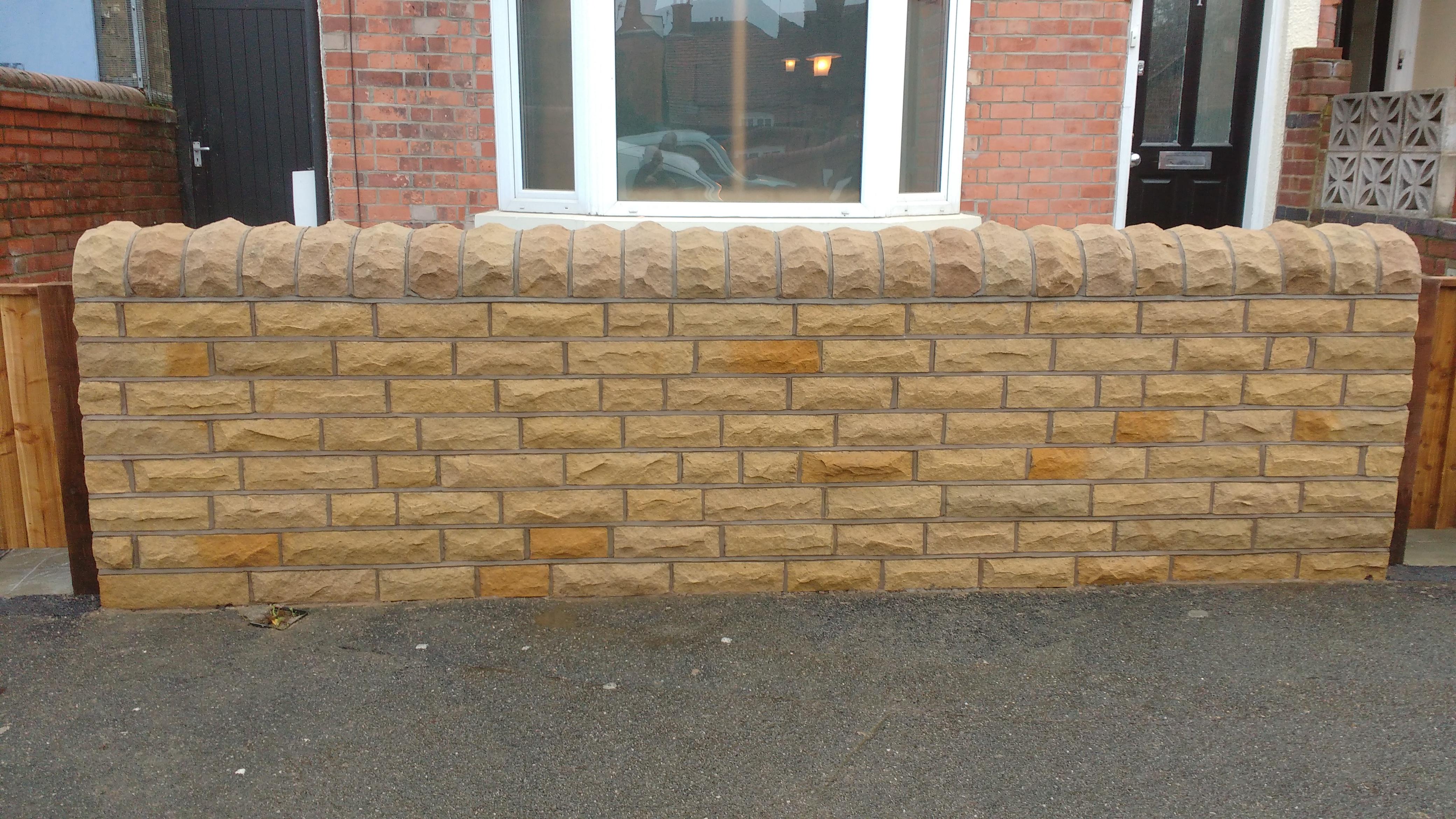 Stone Wall Nottingham